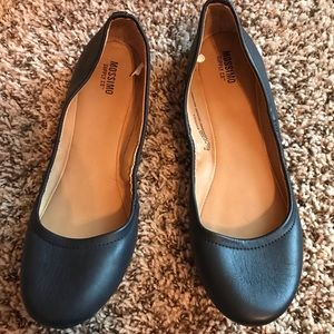 Mossimo by Target Navy Ballet Style Flats